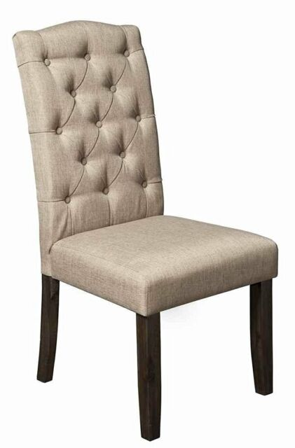 Alpine Furniture Newberry Parson Chair Set Of 2 For Sale Online Ebay