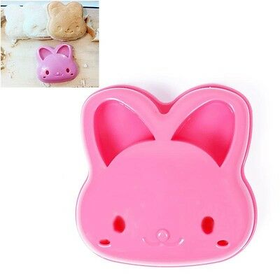 Kawaii Rabbit Shaped Sandwich Bread Cookie Cake Cute Mold Cutter Home Tool Mould
