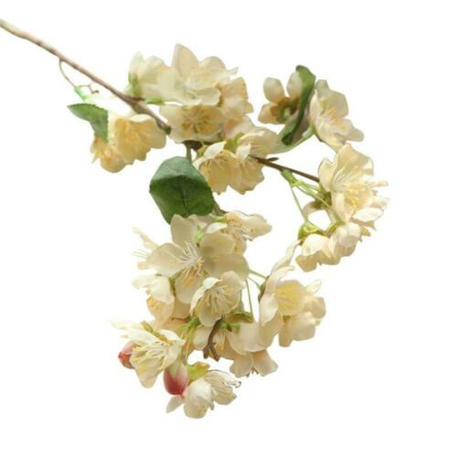 Handmade Cherry Plum Peach Blossom Branch simulation Flowers Home Party Decor
