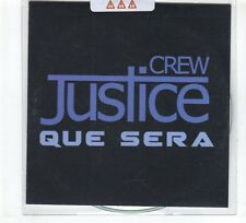 (GR239) Crew Justice, Que Sera - 2014 unopened DJ CD
