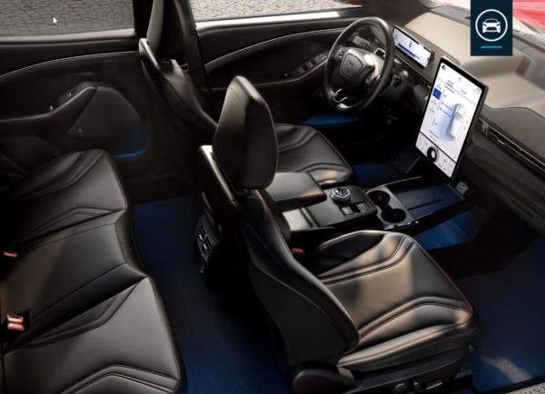 Ford Mustang Mach-E  Extended Range billede 8
