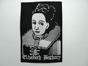 ELIZABETH BATHORY  EMBROIDERED PATCH