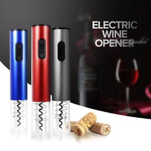 Cn _ Eléctrico Vino Sacacorchos Automático Abrebotellas Kit sin Cable Cabezal O