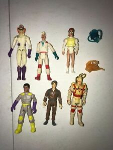 Lot-of-Vintage-Real-Ghostbusters-Action-Figures-for-Parts-Repair