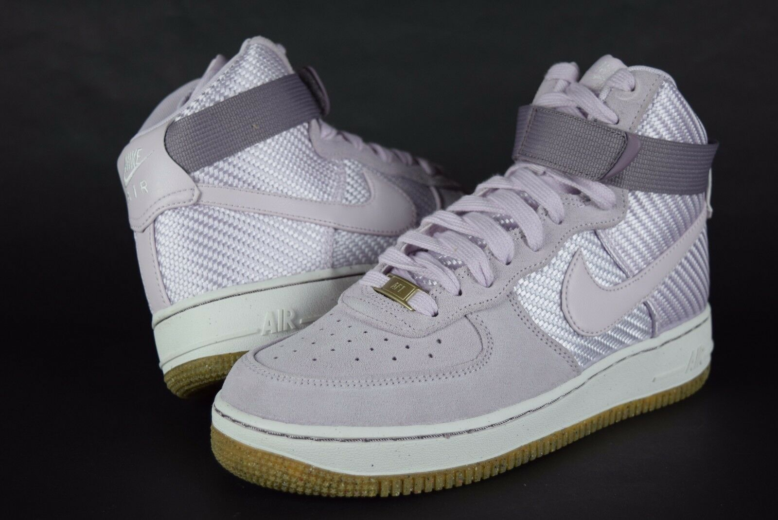 New Damenschuhe Nike Air Force 1 HI PRM 654440 500 Lilac sz 8.5-10 sneakers