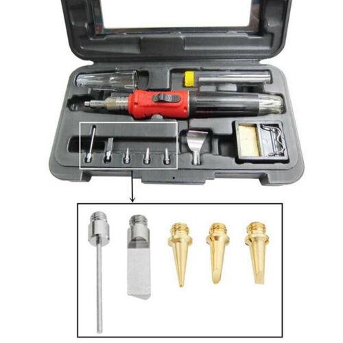 Hs-1115K Gas Soldering Iron Pen Cordless Ignition Butane Solder Iron Weld YAC