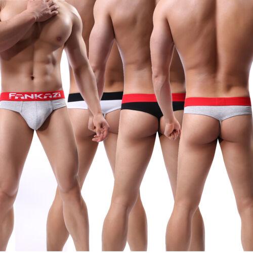 1-3X Men/'s G-Strings Briefs Sports Thongs T-back Jockstrap Mini Brief Bikini LOT