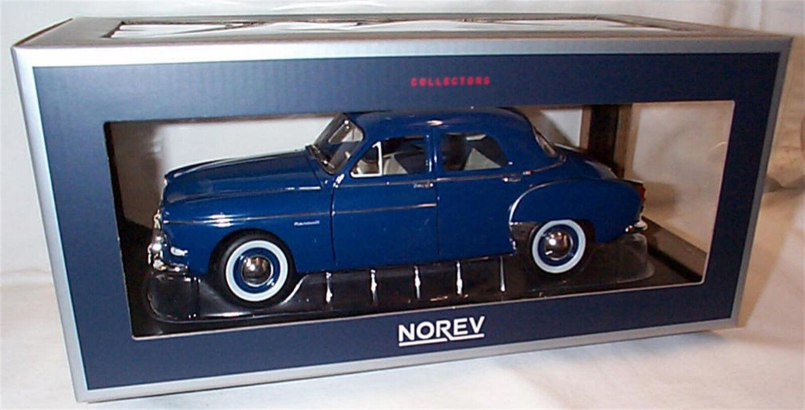 Norev 1 18 Diecast RENAULT FREGATE 1959 CAPRI blu NUOVO IN SCATOLA 185280