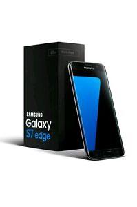 Samsung-Galaxy-S7-borde-SM-G935F-32GB-Negro-Desbloqueado-Telefono-inteligente-Libre-SIM-Reino-Unido