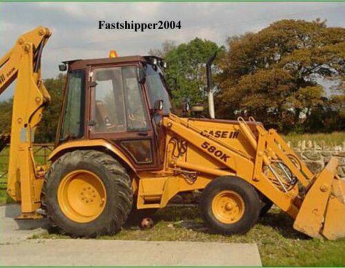 5 Service Reparatur Handbücher Case 580 Super K Traktor Tlb Teile /& Betreiber