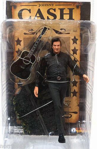 Johnny Cash The Man in in in schwarz Figur PVC 16cm Sota 829d86