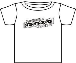Official Black Disney Star Wars Stormtrooper//Darth Vader T shirt age 12 years