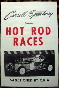 New Hot Rod Poster 11x17 Cover Art Hot Rod and Speedway Comics 1952