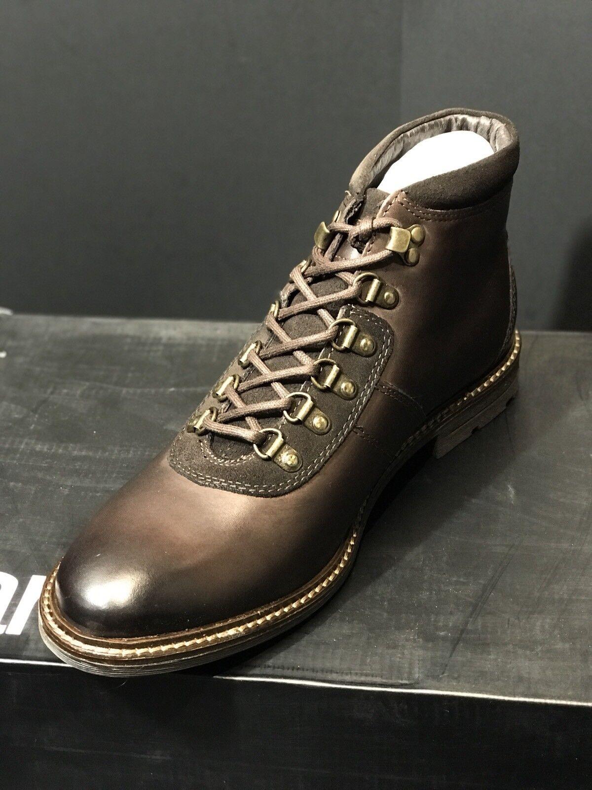 NEW Bar III Boyd Alpine Brown Leather Men US Boots  Size US Men 13 M  NIB cb3e5d