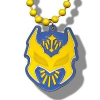 Wwe Sin Cara Beaded Pendant Necklace, Lucha Libre Mistico Wrestling Blue/yellow