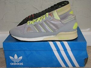 acb94b4a4c444 adidas Originals ZX 710 Ice Grey   Aluminum Glow Mens Size 9.5 DS ...