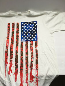 Walking-Dead-034-Zombie-Flag-034-Size-M-Medium-Kirkman-Skybound-T-Shirt