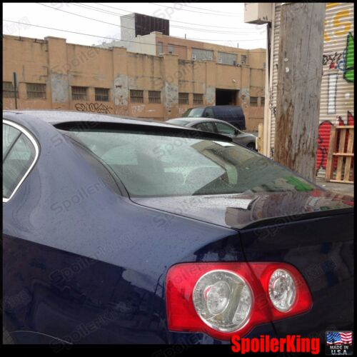 Fits: Subaru Legacy 2005-09 4dr COMBO Spoilers Rear Roof Wing /& Trunk Lip