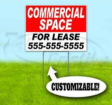 Commercial Space For Lease Custom 18x24 Yard Sign With Stake Bandit Usa Realty