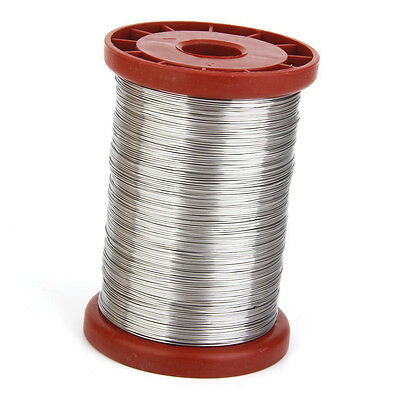 0.5mm 500G Stainless Steel Wire for Beekeeping Beehive Frames Tool 1 Roll M7O7