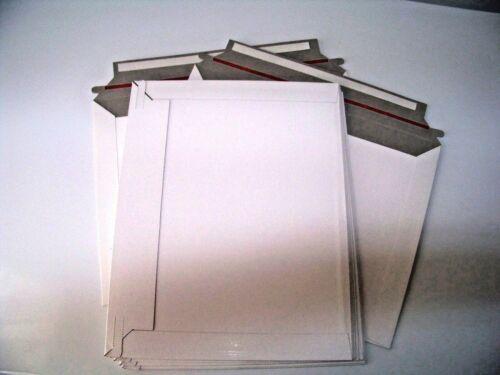 "10 DURACARD Sealing Stay Flat Cardboard Mailers 9"" X 11 ½""           MF001"