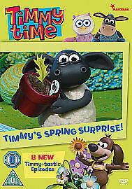 1 of 1 - Timmy Time - Timmy's Spring Surprise [DVD], Very Good DVD, , Jackie Cockle