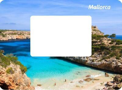 Mallorca Spanien Magnet Bilderrahmen 12 Cm Foto Epoxid Reise Souvenir Weniger Teuer