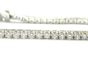 Round-Diamond-Tennis-Bracelet-18Kt-White-Gold-52-Stones-4-00Ct-7-034