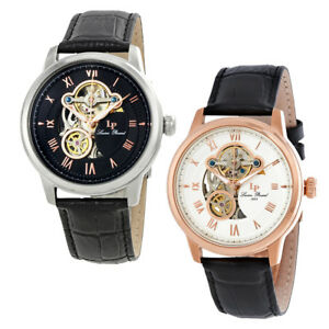 Lucien-Piccard-Optima-Open-Heart-Automatic-Mens-Watch-Choose-color