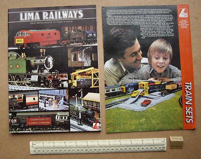1980/81 Lima Full Range Uk Catalogue. 00 & N Gauges. Very Elaborate (r146) Sconti
