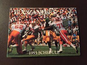 Tampa-Bay-Buccaneers-1993-NFL-pocket-schedule