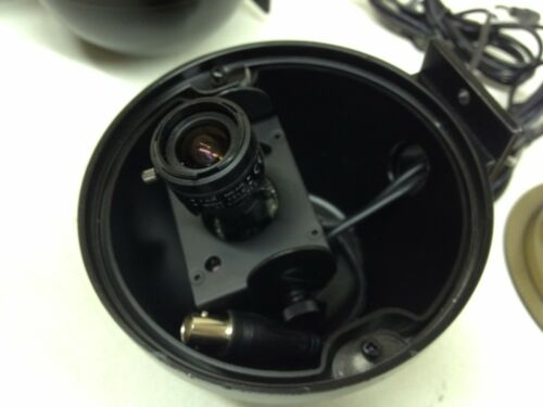LOT of 16 Wren Mini Dome 12V DC CCTV Camera w// 3.5-8mm Lens BNC Wall Mount Black