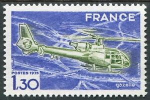 STAMP-TIMBRE-FRANCE-NEUF-LUXE-N-1805-HELICOPTERE-GAZELLE