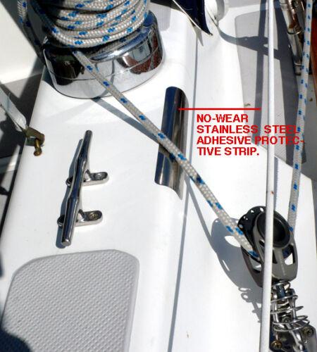 "Chafe Guard for boats NO WEAR GUARD 9/"" 228mm"