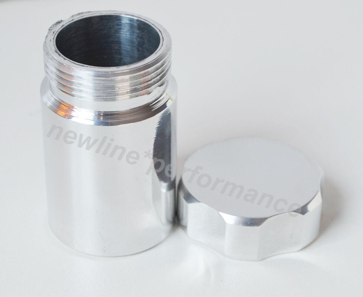 Aluminium Weld On Filler Neck And Cap 33mm Id 38mm Od