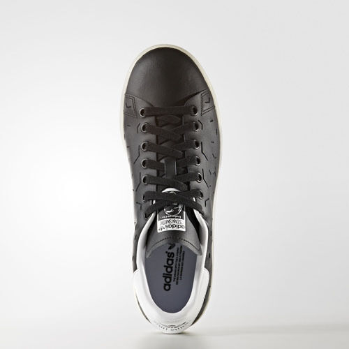 Women Adidas shoes BZ0394 Stan smith Running shoes Adidas black white Sneakers 59ebae