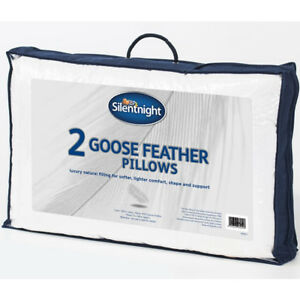 Silentnight-Luxury-Goose-Feather-Pillow-With-Soft-Pure-Cotton-Cover-2-Pack