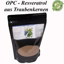 OPC Resveratrol Pulver aus Bio Traubenkernen - Premium Qualität - 1 kg