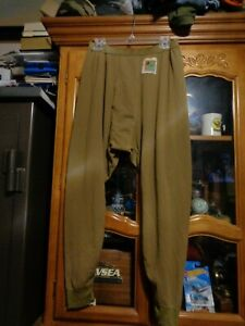 USMC-Polartec-Grid-Fleece-Pants-Trouser-Coyote-Brown-Size-Large-Regular-LR-NWT