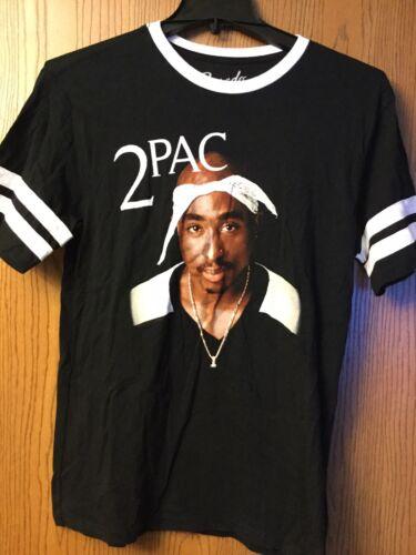 Tupac.   Shirt.  Black.  M