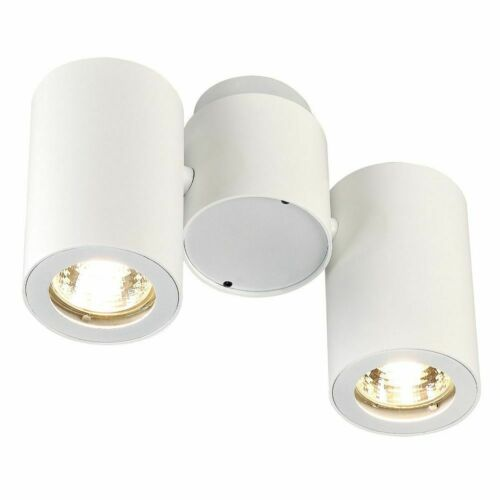 2x50w SLV 151831 Enola /_ B Spot II mur et plafond éclairage blanc 2xgu10 max