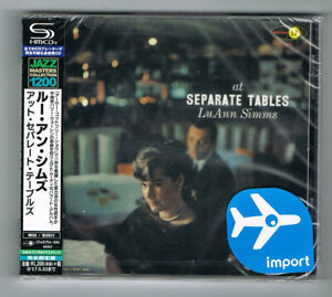 LU-ANN-SIMMS-AT-SEPARATE-TABLES-1958-SHM-CD-12-TITRES-NEUF-NEW