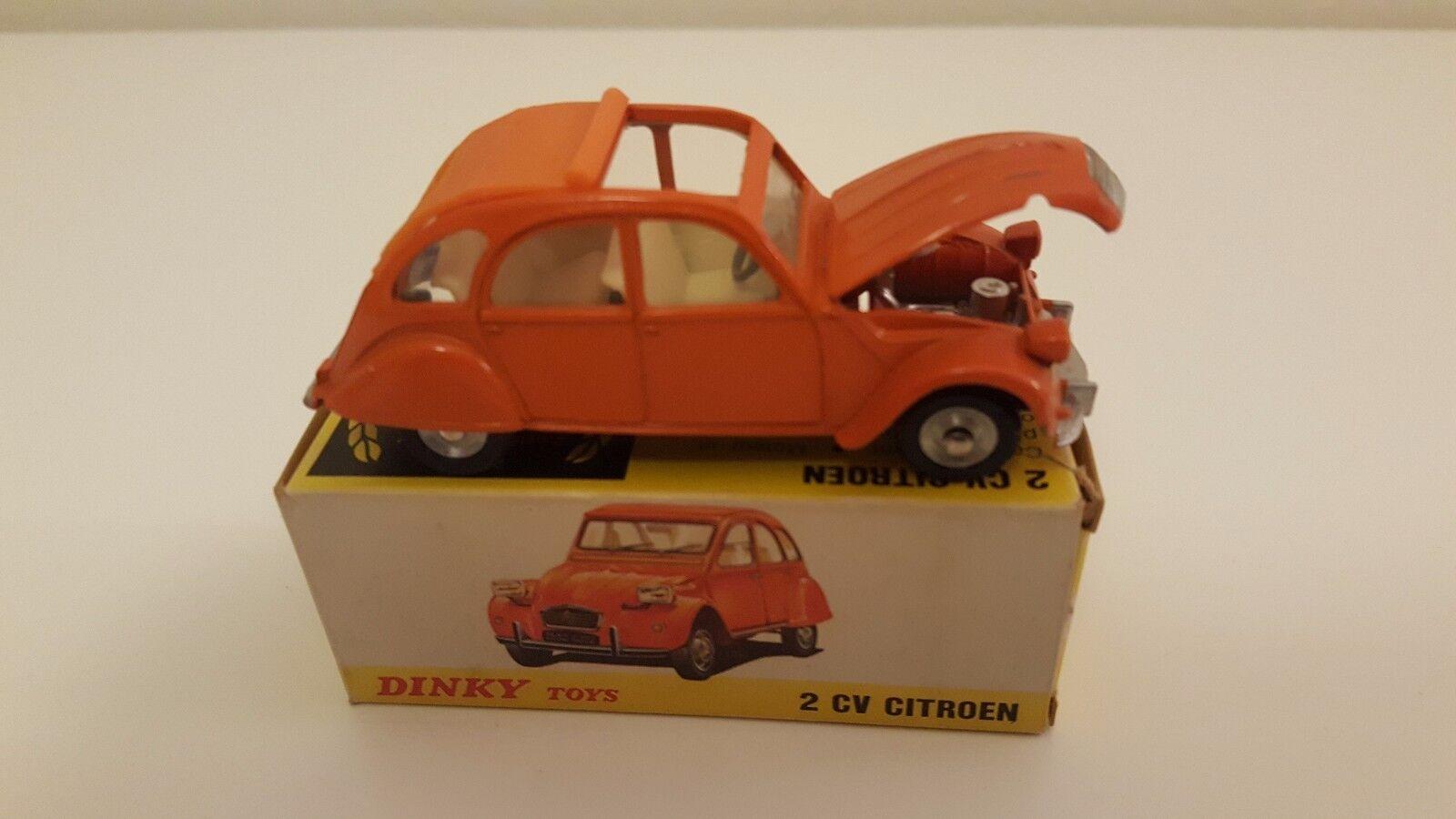 Dinky Toys (Spain) - 01 500 - Citroën 2 CV en boîte d'origine VN MIB