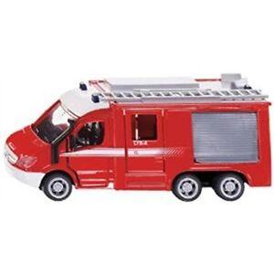 1:50 Siku Mercedes 6x6 Sprinter Fire Engine - 150 2113 Scale Benz Super Nouveau