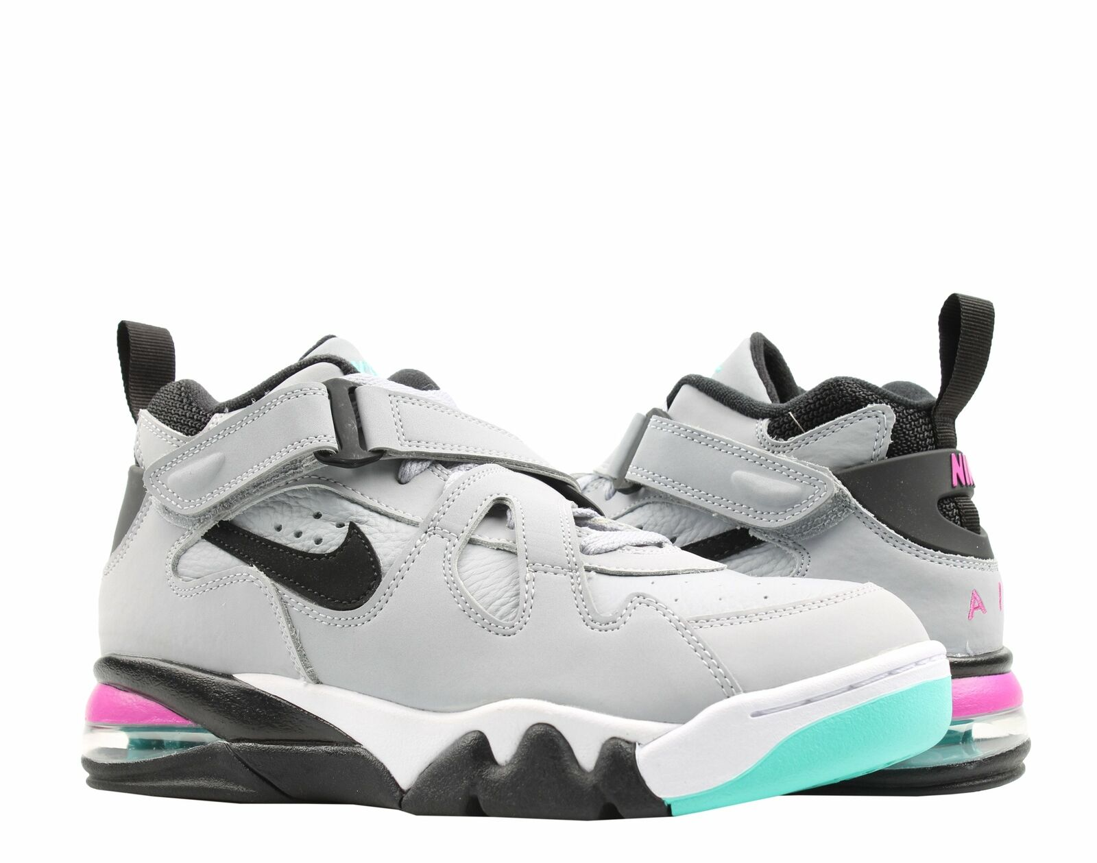 Nike Air Force Max CB Grey Black-Fuchsia Men's Basketball shoes AJ7922-003