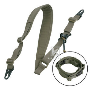 Krydex-Modular-Sling-2-1-Point-Padded-Shooting-Sling-Removable-Ranger-Green