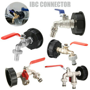 1PC-IBC-Tank-Adapter-S60X6-To-Brass-Garden-Tap-1-2-034-Hose-Fitting-Oil-Fuel-Water