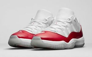 2016-Nike-Air-Jordan-11-XI-Retro-Low-Cherry-Red-Size-10-5-528895-405-1-2-3-4-5
