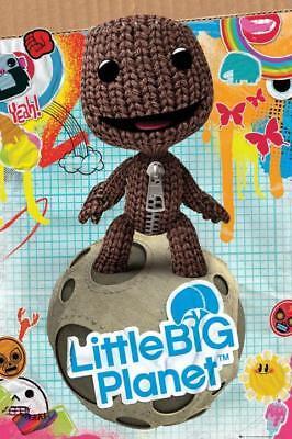 Fabulous Little Big Planet Sackboy Sack Boy Poster New Fp2369 235 21 Z Birthday Cards Printable Riciscafe Filternl