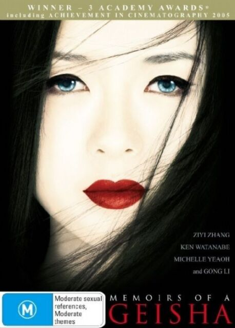 Memoirs Of A Geisha (DVD, 2006)